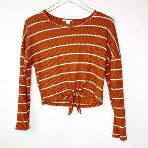 Urban Outfitters Caution to the Wind Striped Top